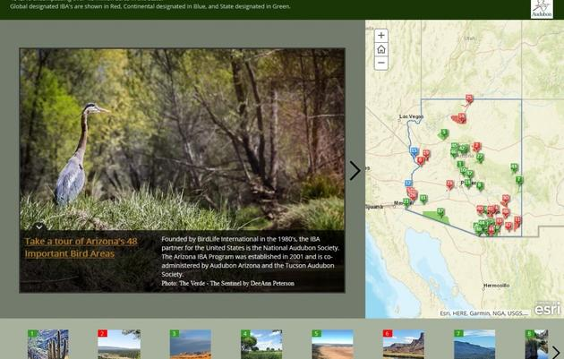 IBA Story Map Tour