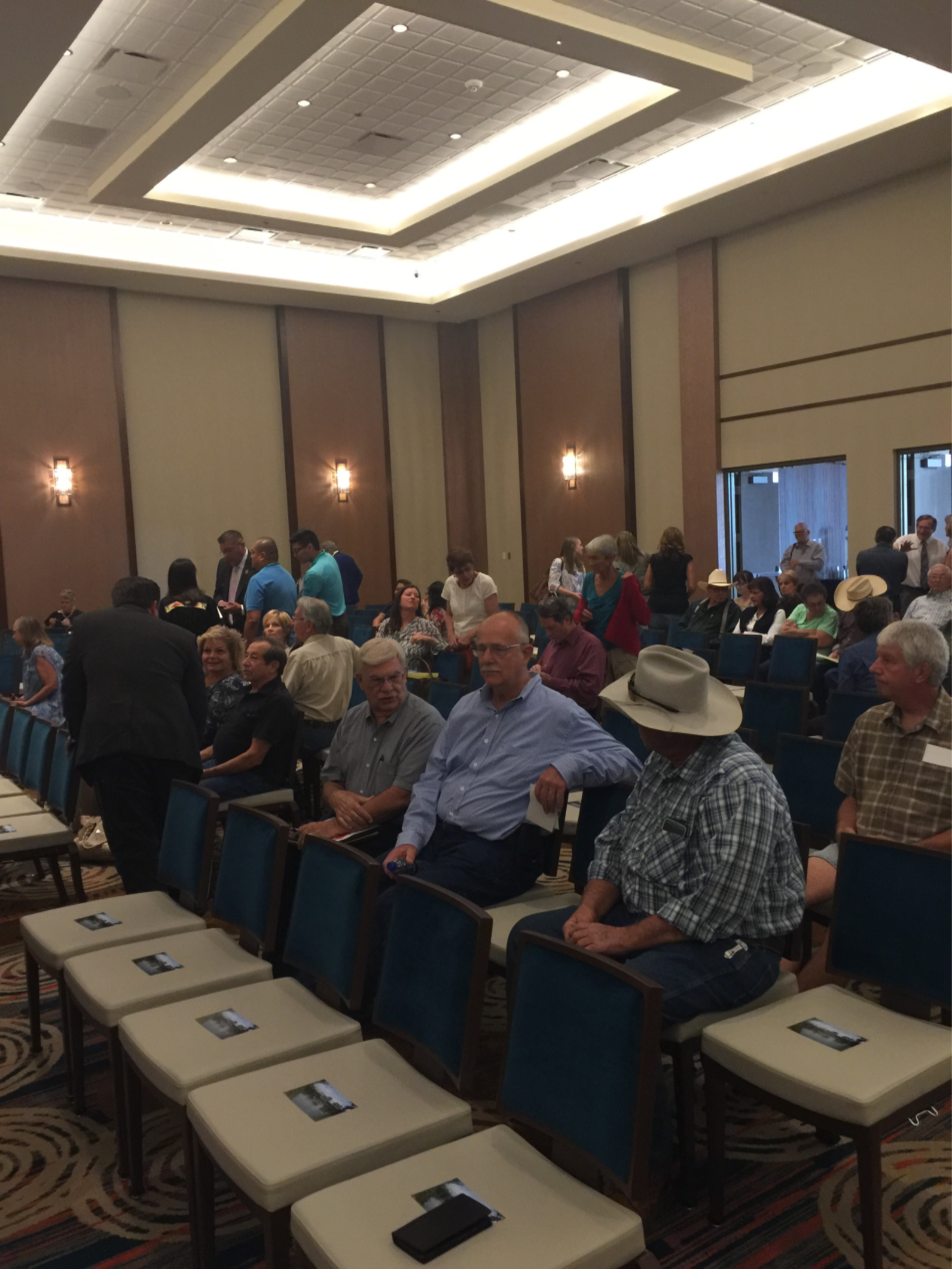 Constituents wait to speak at the Camp Verde Energy, Environment, and Natural Resources Committee Meeting